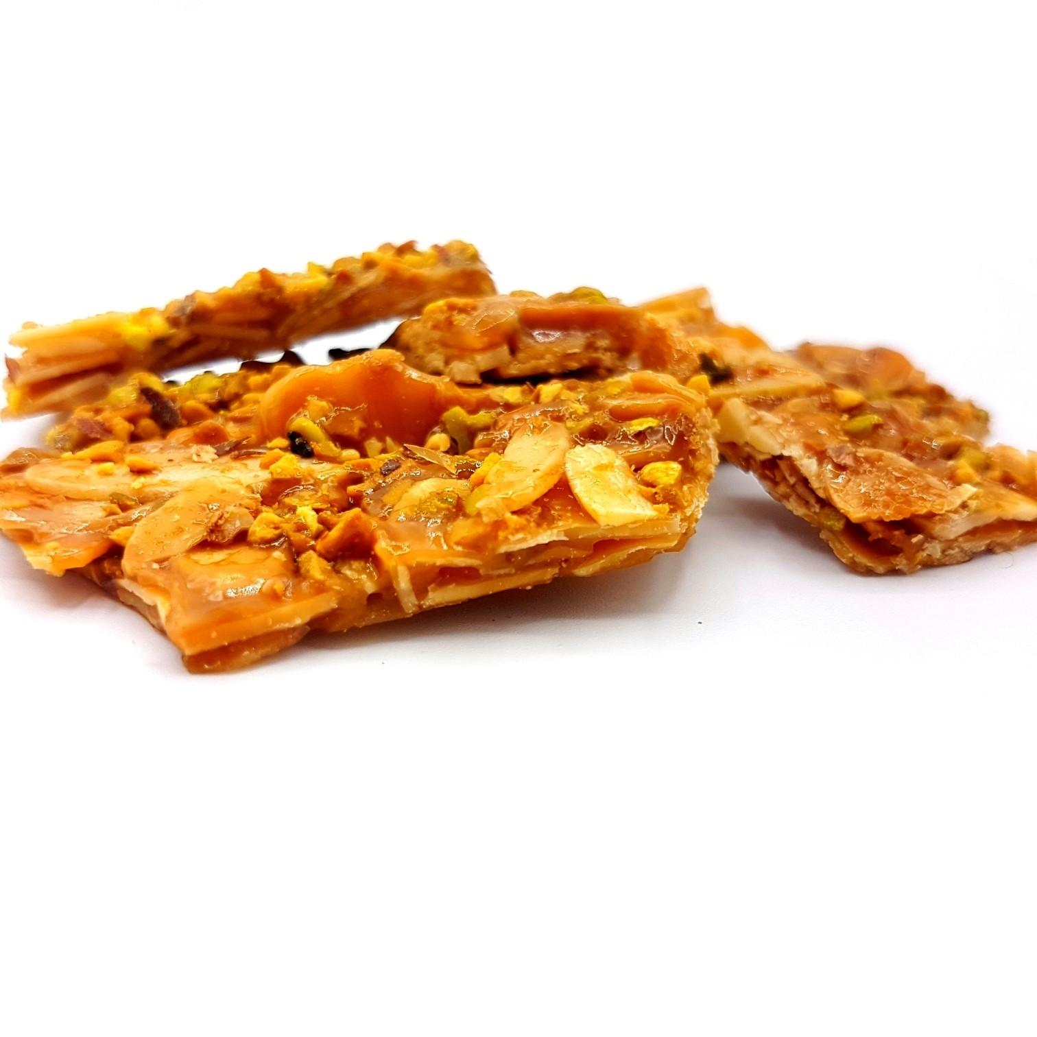 Croccante mandorla e pistacchio in confezione regalo